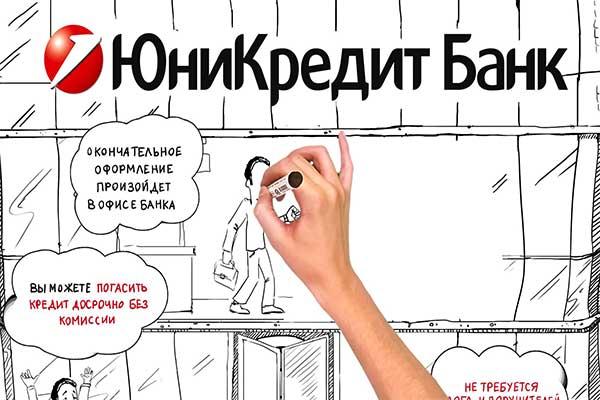 Условия получения потребительского кредита от ЮниКредит Банка